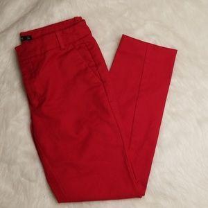 Zara Basic Red Pants